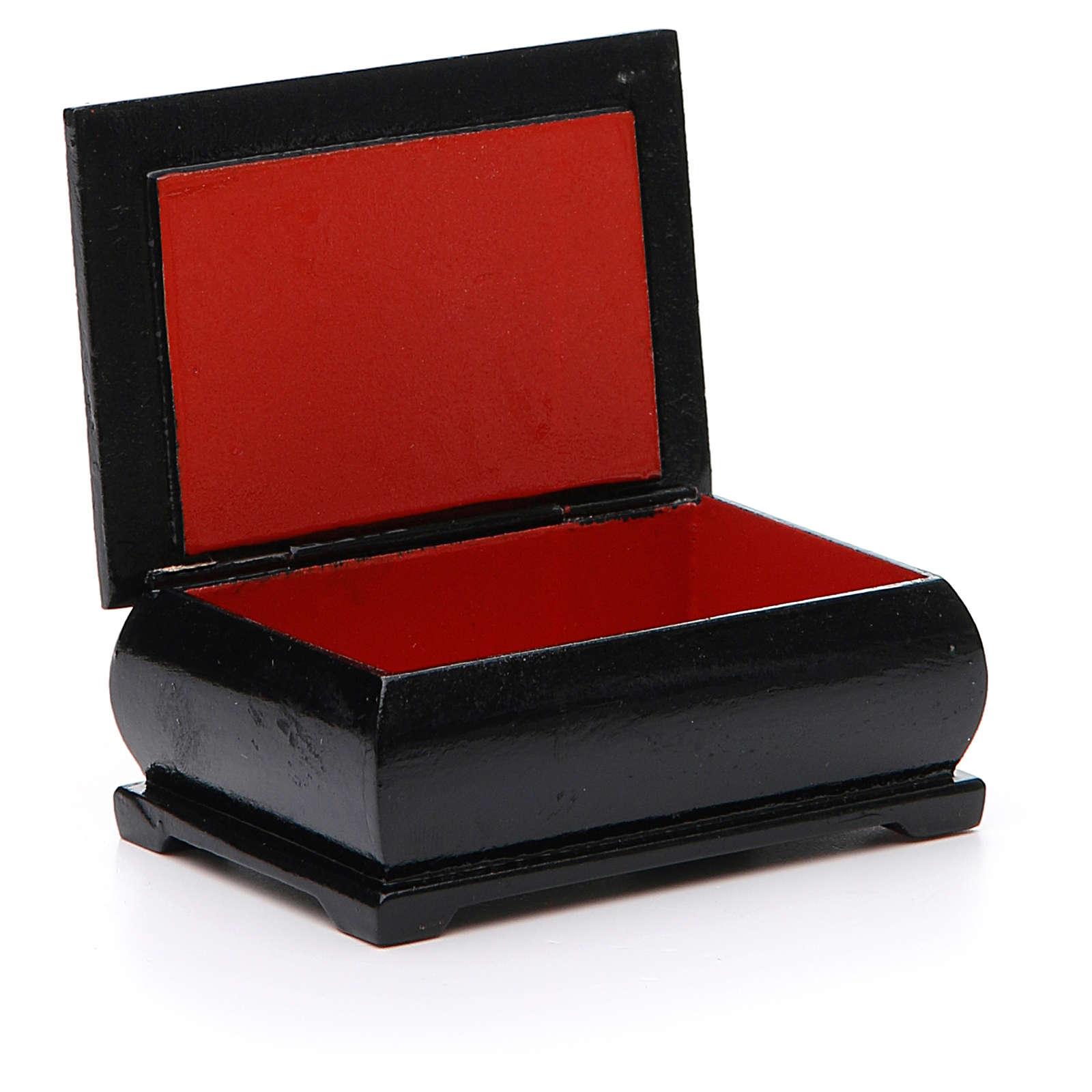 Box enamel Russia Self-painted Madonna 4