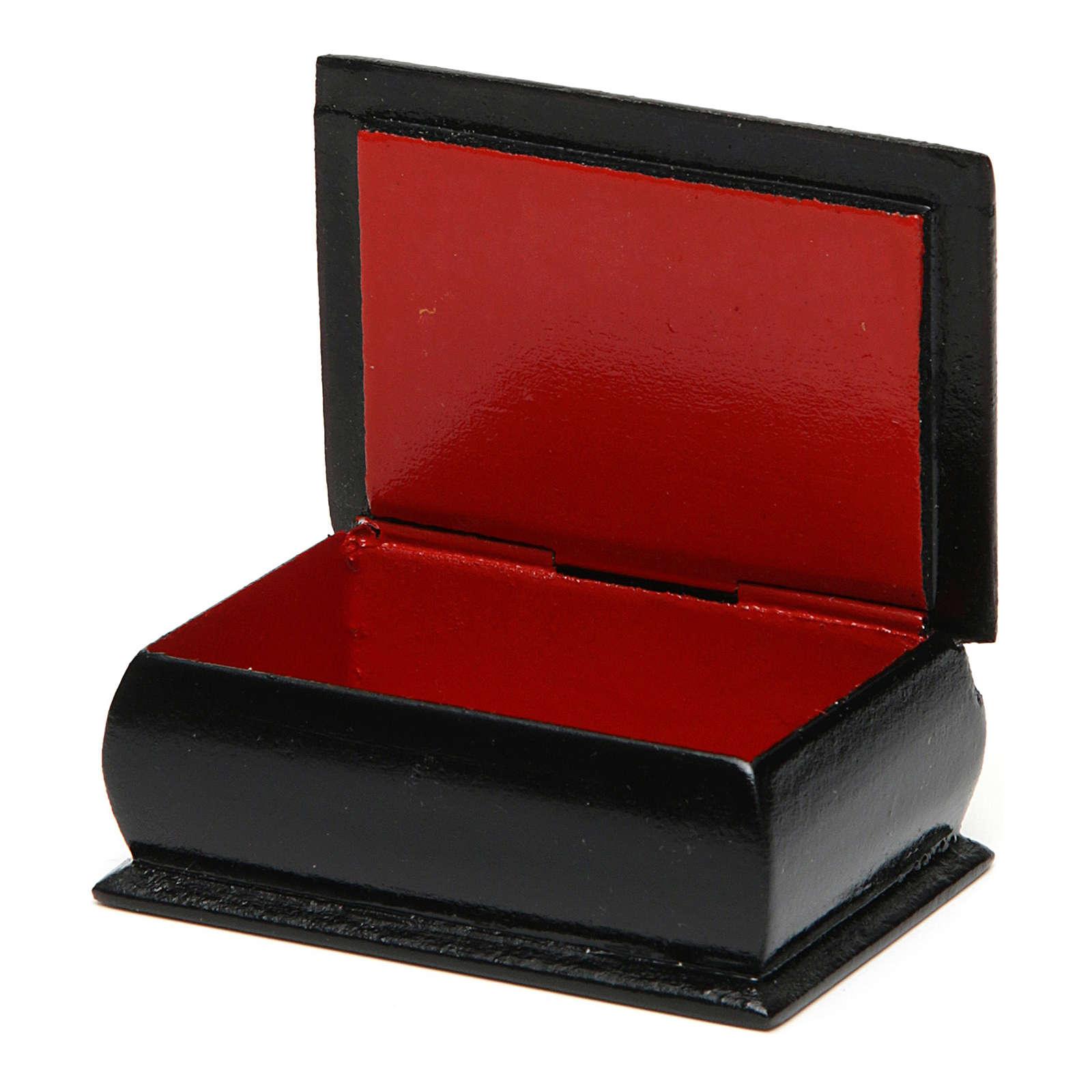 Russian lacquer box Our Lady Feodorovskaya 7X5 cm 4