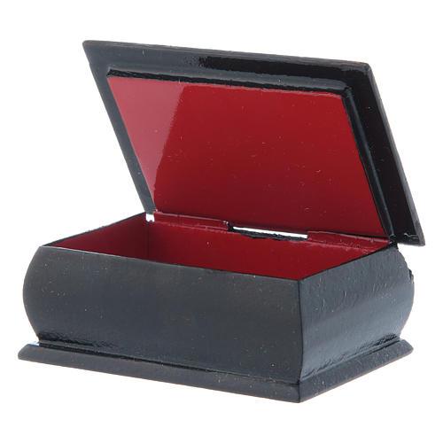Russian decoupage box Our Lady Tikhvinskaya 7X5 cm 3