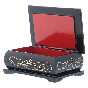 Russian lacquer box, Gerburt Christi (The Nativity) 9x6 cm s3