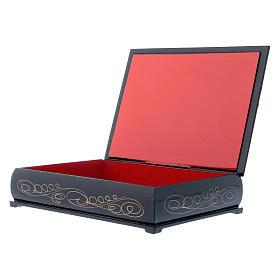Russian lacquer box The Birth of Jesus Christ 22X16 cm s3