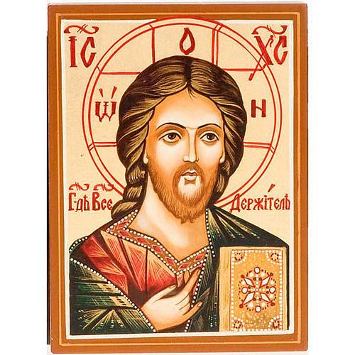 Icona  Cristo Pantocratico primo piano 1