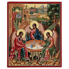 Icona SS Trinità di Rublev Russia cm 22x27 s1