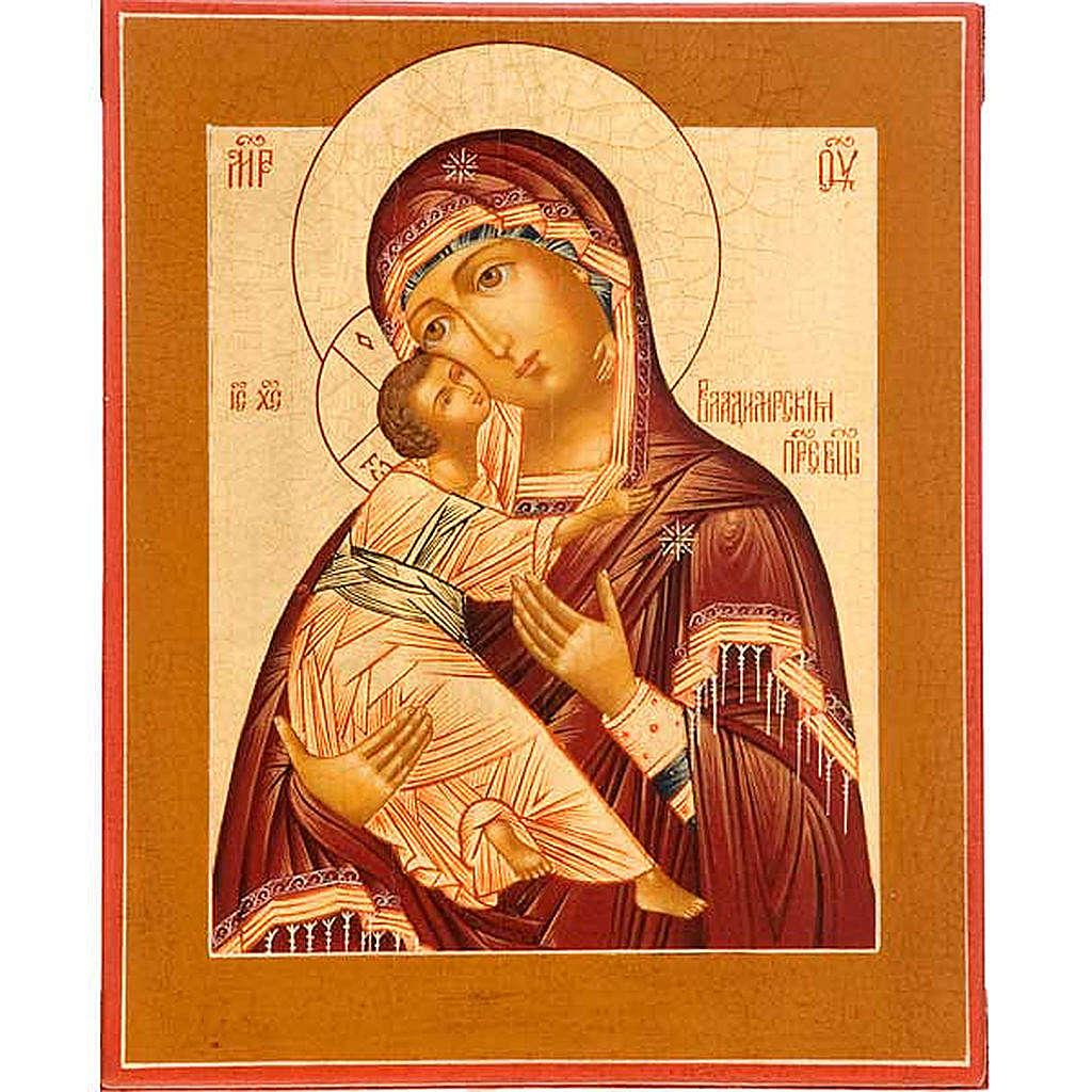 Icona Madre di Dio Vladimir Russia 4