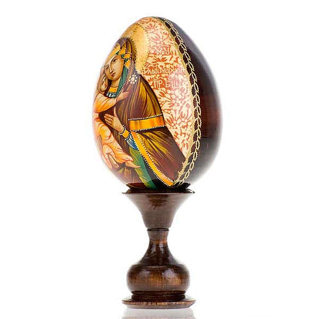 Uovo - icona Madre di Dio Vladimir 4