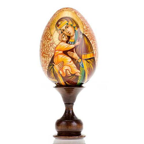 Uovo - icona Madre di Dio Vladimir 1