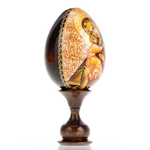 Uovo - icona Madre di Dio Vladimir 2