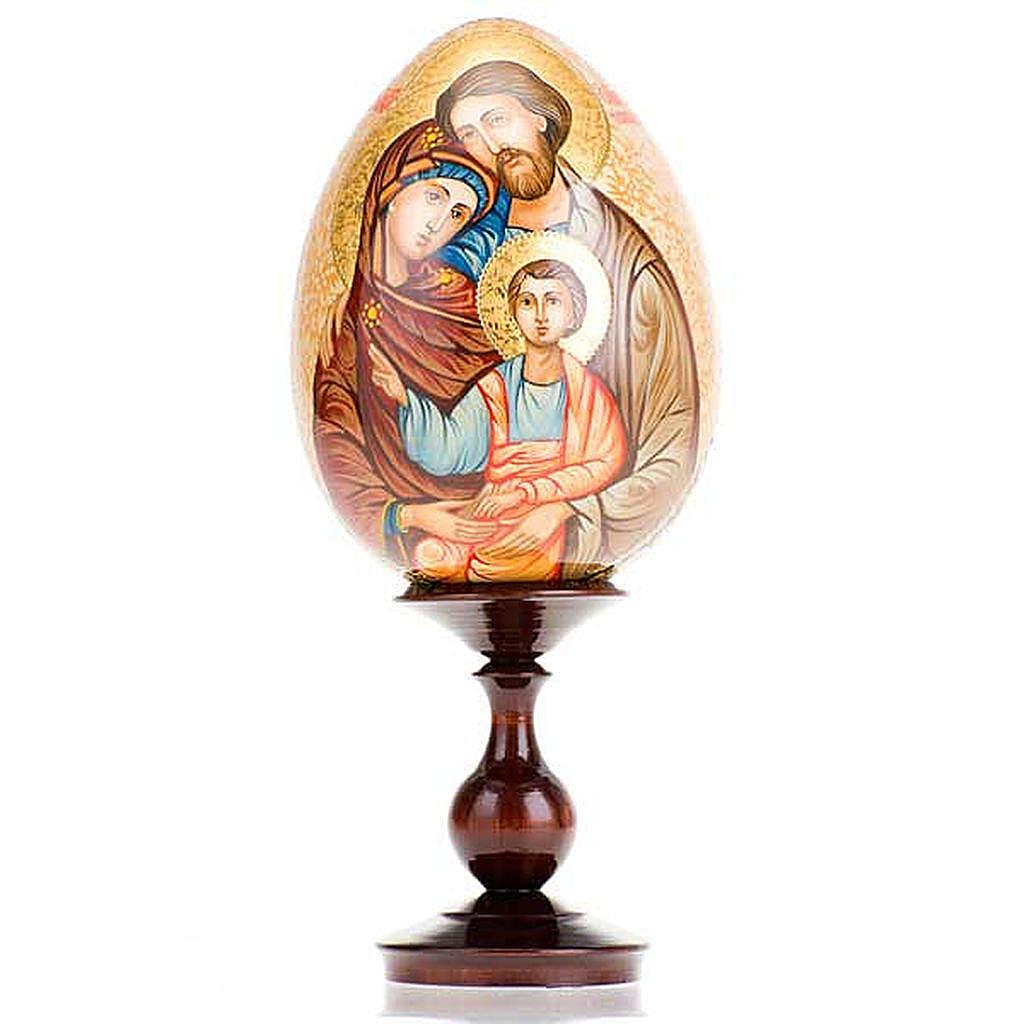 Uovo - icona Sacra Famiglia 4