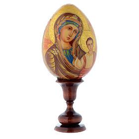 Uovo icona Madre di Dio di Kazan DIPINTO A MANO s1