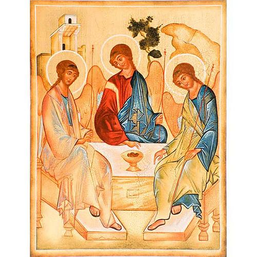Icona Trinità di Rublev 1