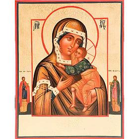 Iconos Pintados Rusia: Ícono Madre de Dios de Tolga