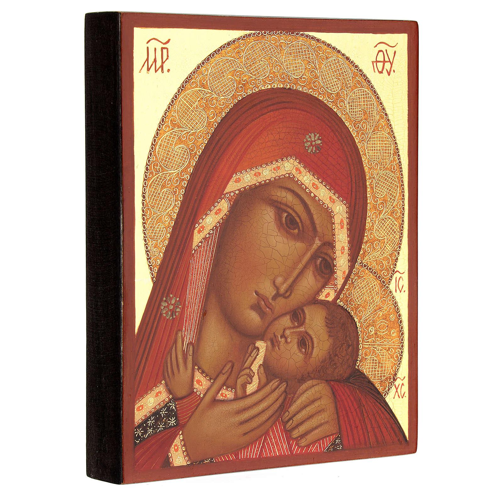 Vierge de Korsun 14x10 cm 4