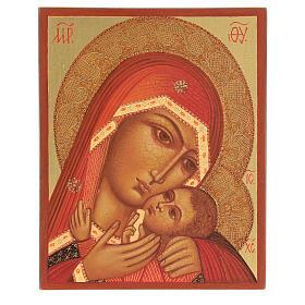 Vierge de Korsun 14x10 cm s1