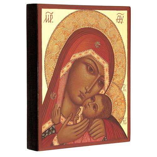 Vierge de Korsun 14x10 cm 3