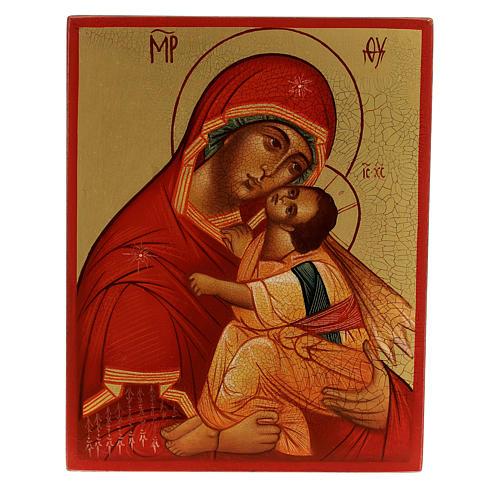 Madre de Dios 'más honorable' 14x10 cm 1