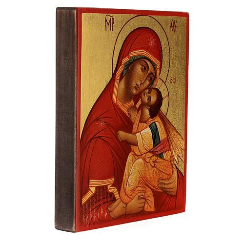 Madre de Dios 'más honorable' 14x10 cm 3