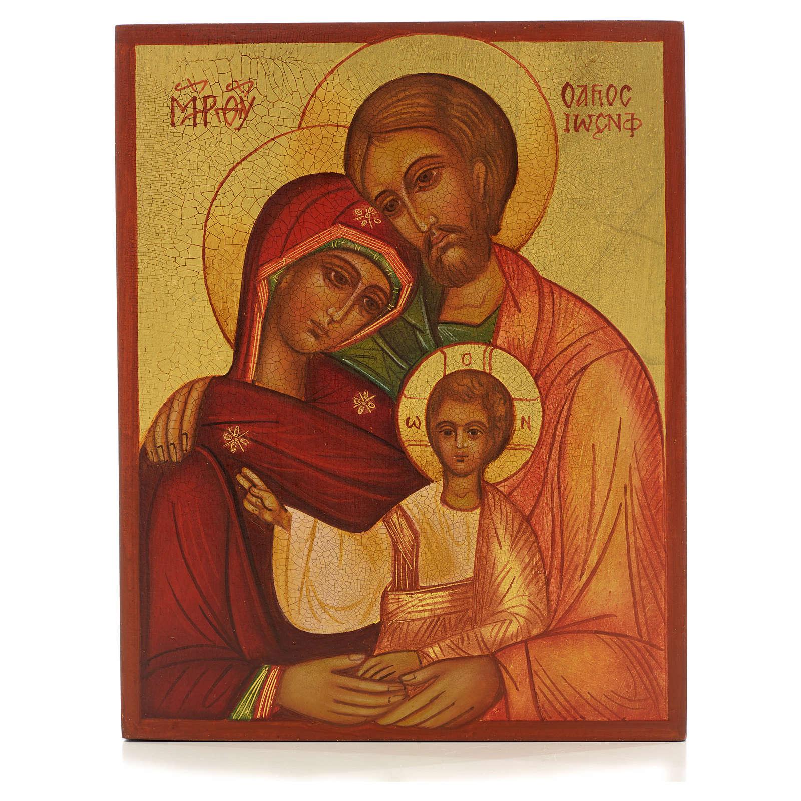 Icona russa Sacra Famiglia Russia 4