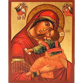Icona Madre di Dio Clemente con angeli s1