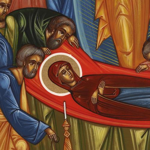 Icona Dormizione di Maria 3