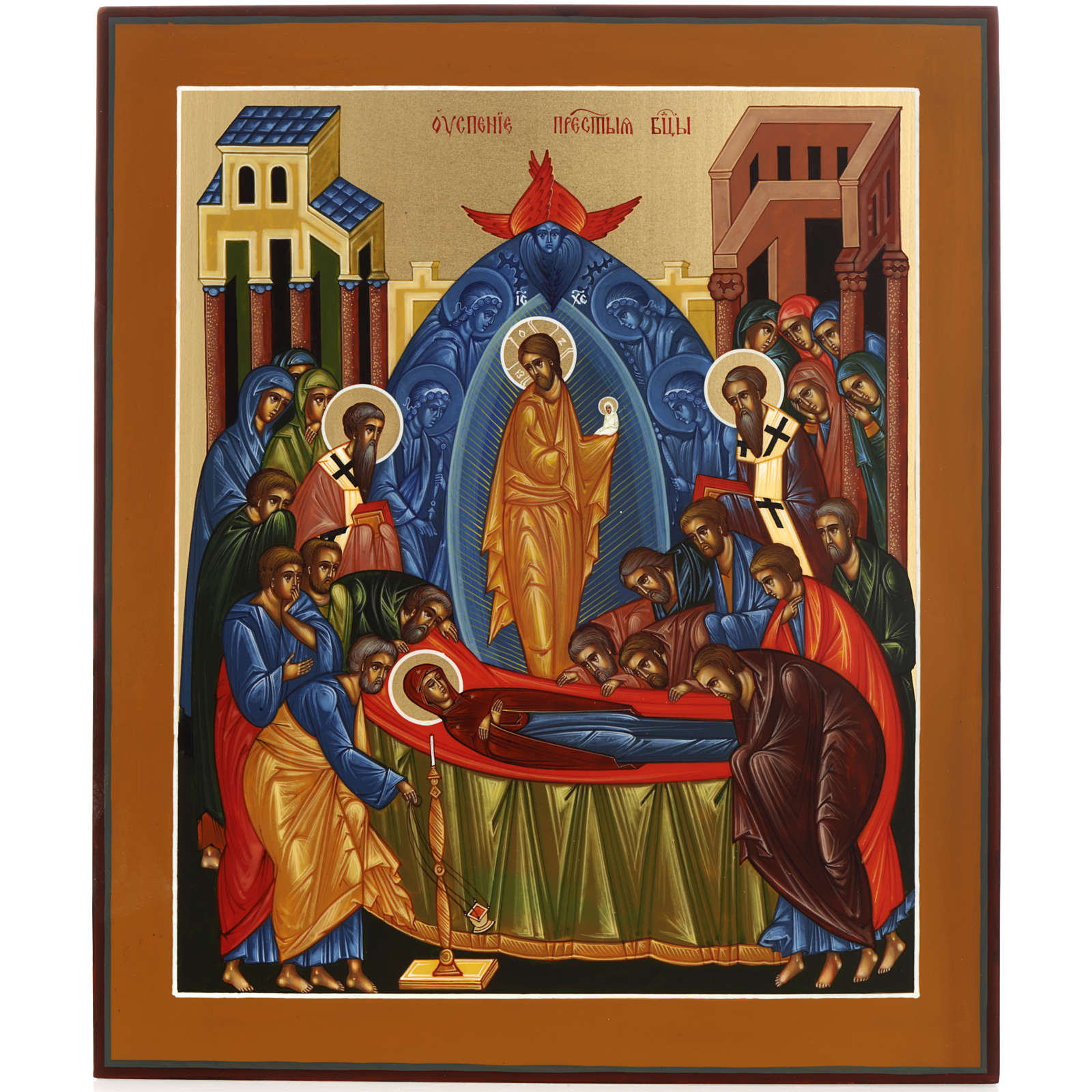 Icon of the Dormition of Mary 4