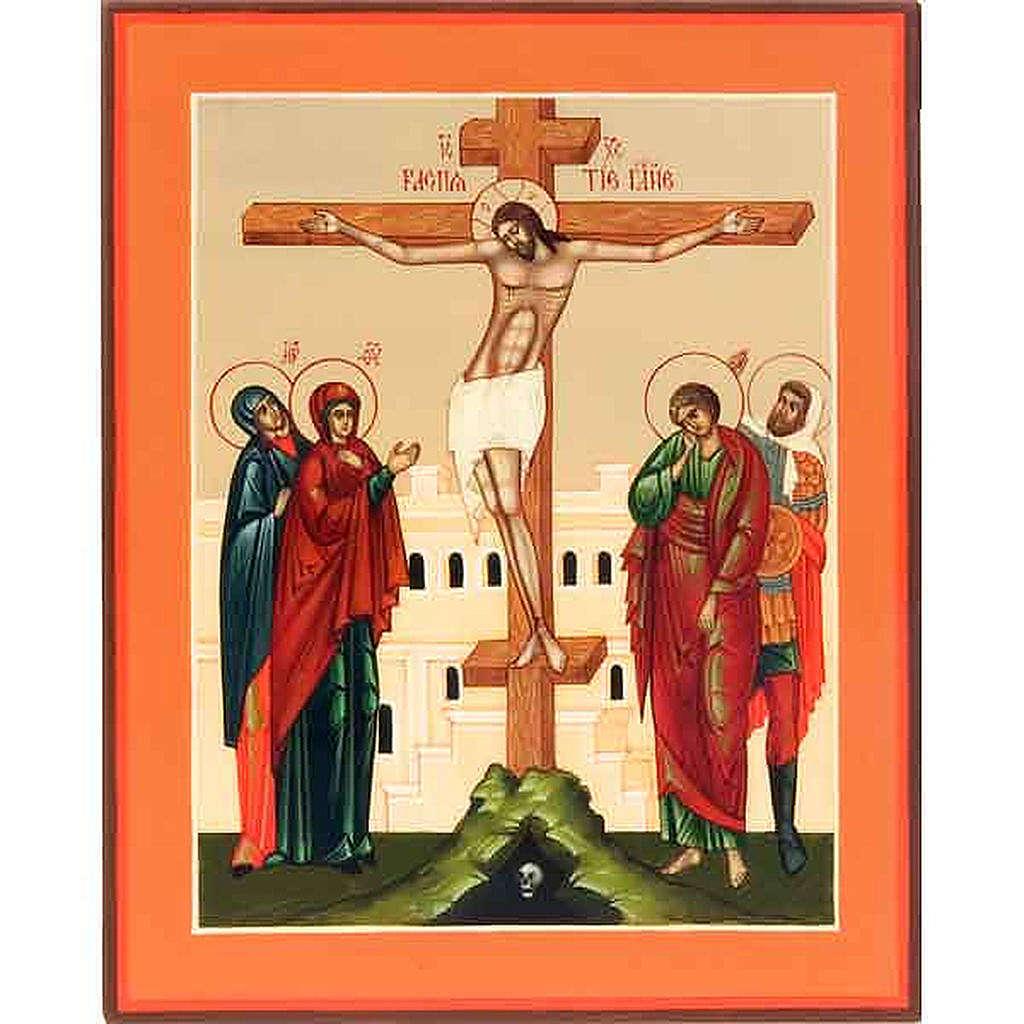Icona Crocifissione Russia 4