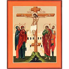 Icona Crocifissione Russia s1