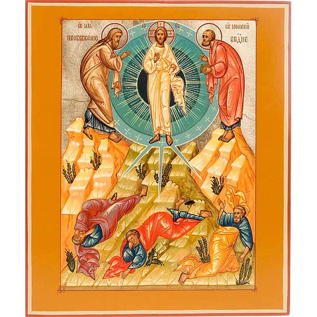 Icona Trasfigurazione di Cristo 4