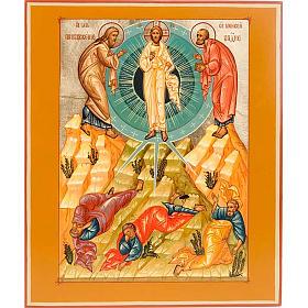 Icona Trasfigurazione di Cristo s1