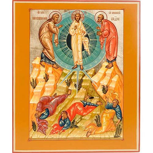 Icona Trasfigurazione di Cristo 1