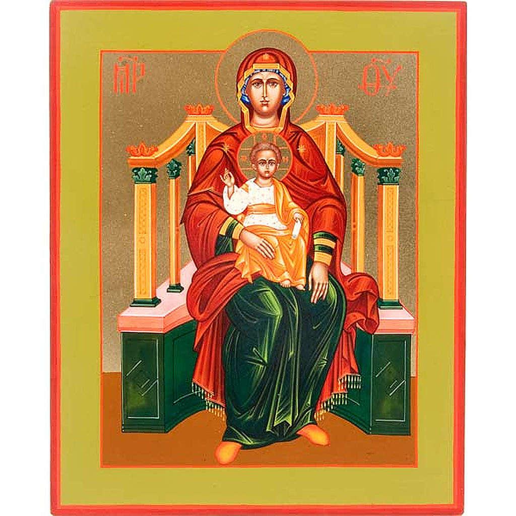 Icona Madonna su Trono: Basilissa (Regina) 4