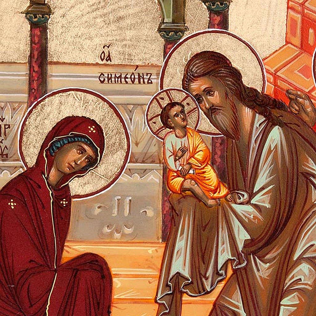 Icona Presentazione di Gesù al tempio 4