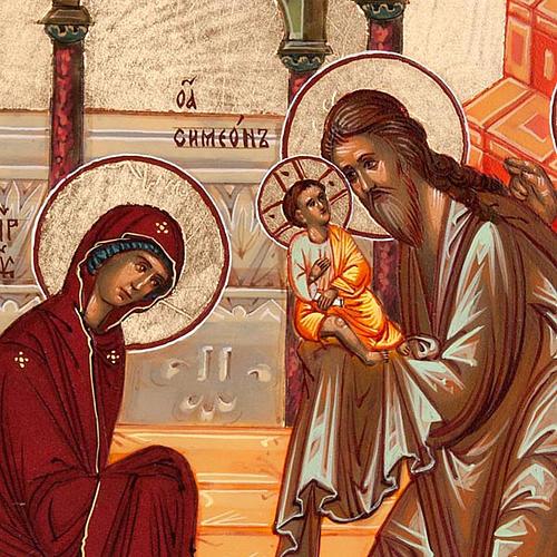 Icona Presentazione di Gesù al tempio 3