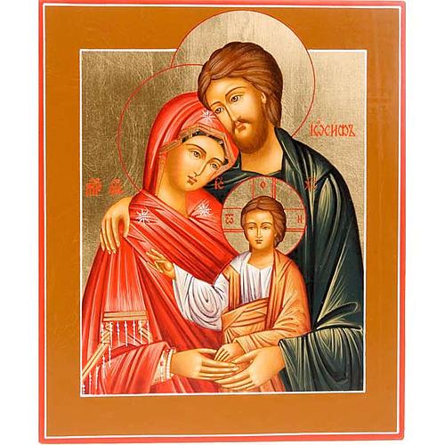 Icona Sacra Famiglia ortodossa Russa 1