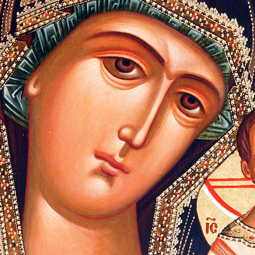 Icona russa Vergine di Kazan 3