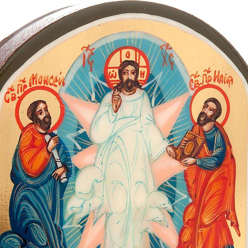 Icona russa Trasfigurazione 6x9 cm 4