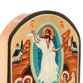 Icona russa Resurrezione 6x9 cm s4