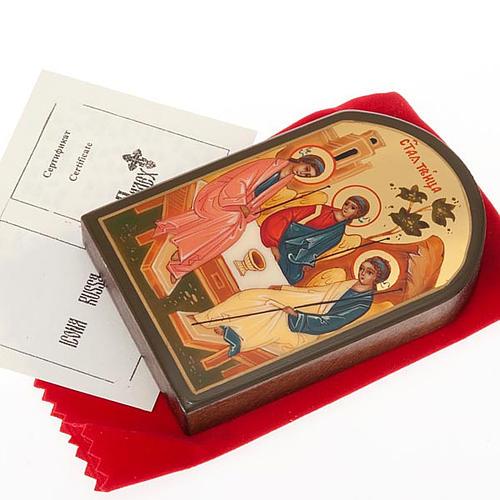 Icona russa SS Trinità 6x9 cm 2