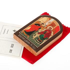 Icona russa Annunciazione 6x9 cm s2