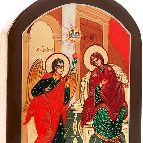 Icona russa Annunciazione 6x9 cm s4