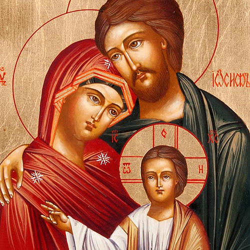Russian icon Holy Family 2