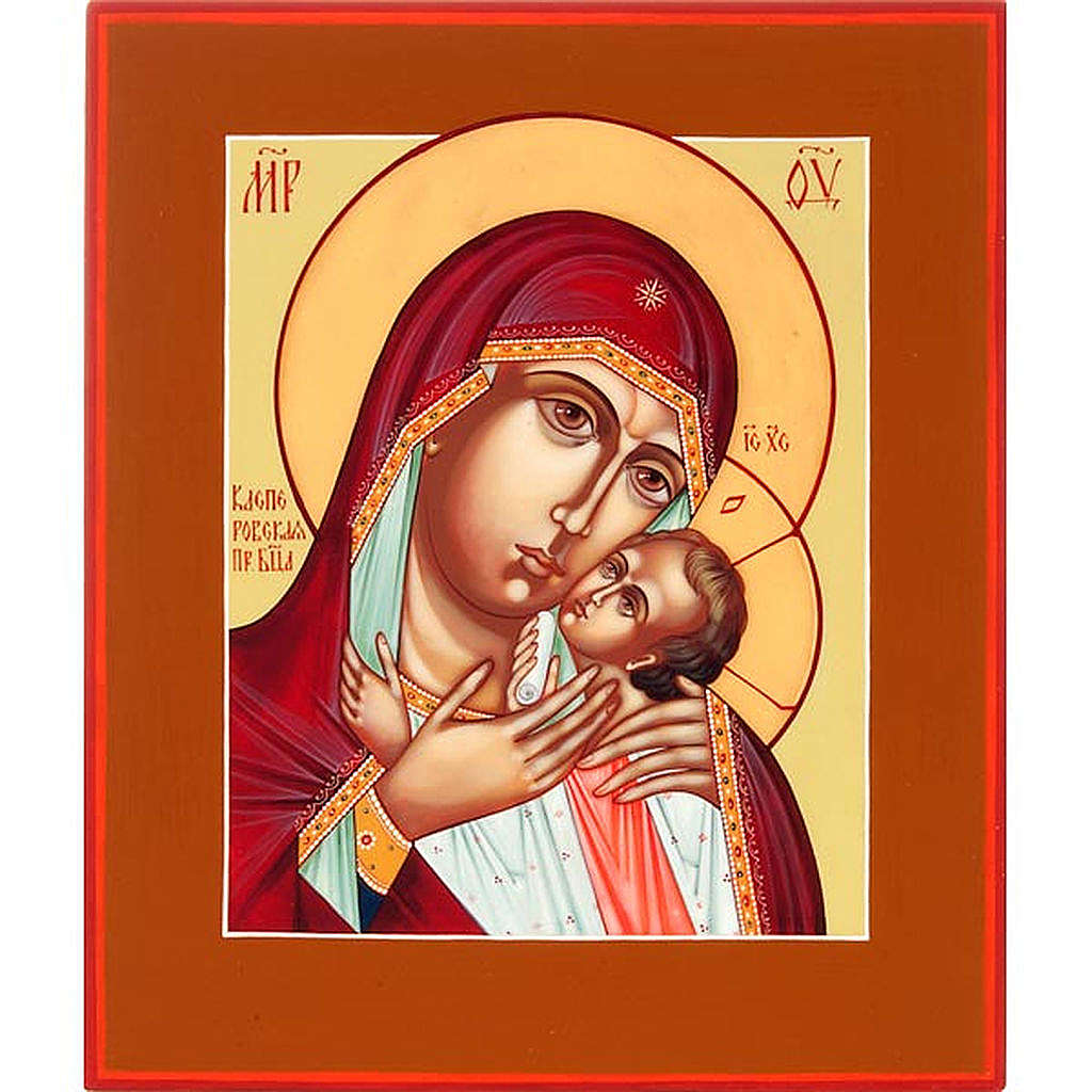 Russian icon, Mother of God of Korsun 4