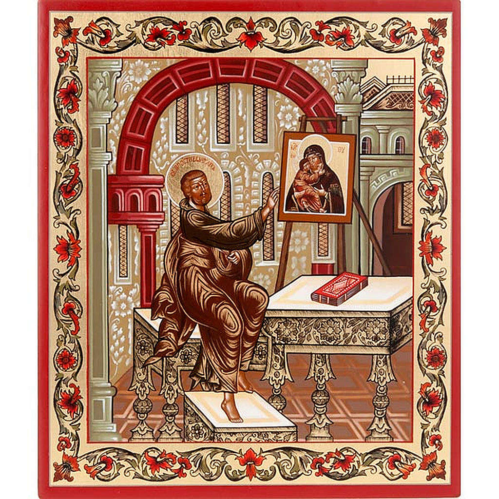 Icona San Luca Evangelista Russia 4