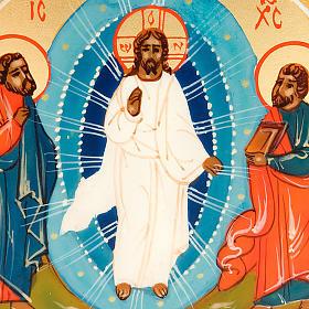 Icona sacra Trasfigurazione di Gesù 6x9 Russia s3