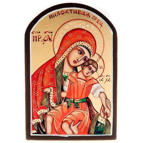 Icona sacra Madre Dio Kikkotissa 6x9 Russia 1