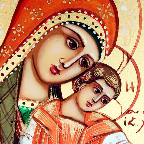 Icona sacra Madre Dio Kikkotissa 6x9 Russia 3