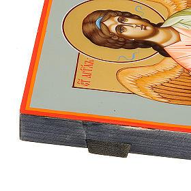 Icona Angelo Custode dipinta a mano Russia 22x27 s3
