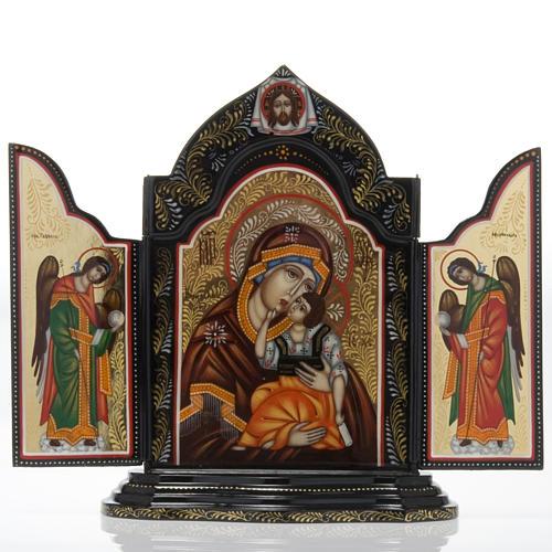 Trittico Russia dipinto 18 x 12 cm 1