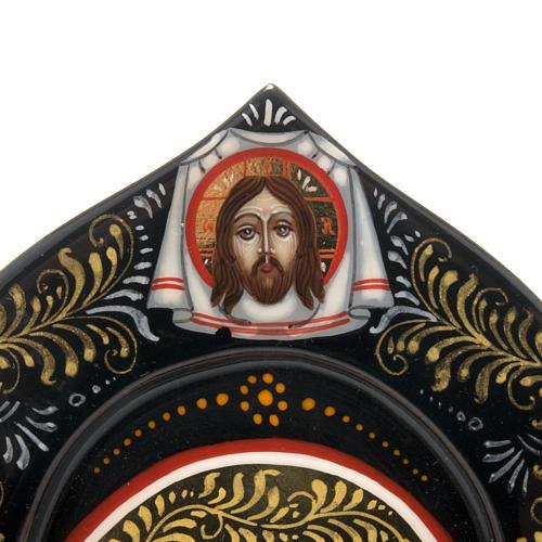 Trittico Russia dipinto 18 x 12 cm 3