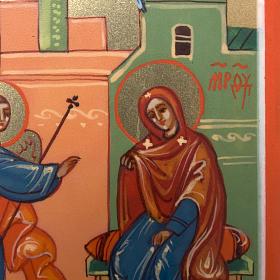 Annunciation miniature icon s2