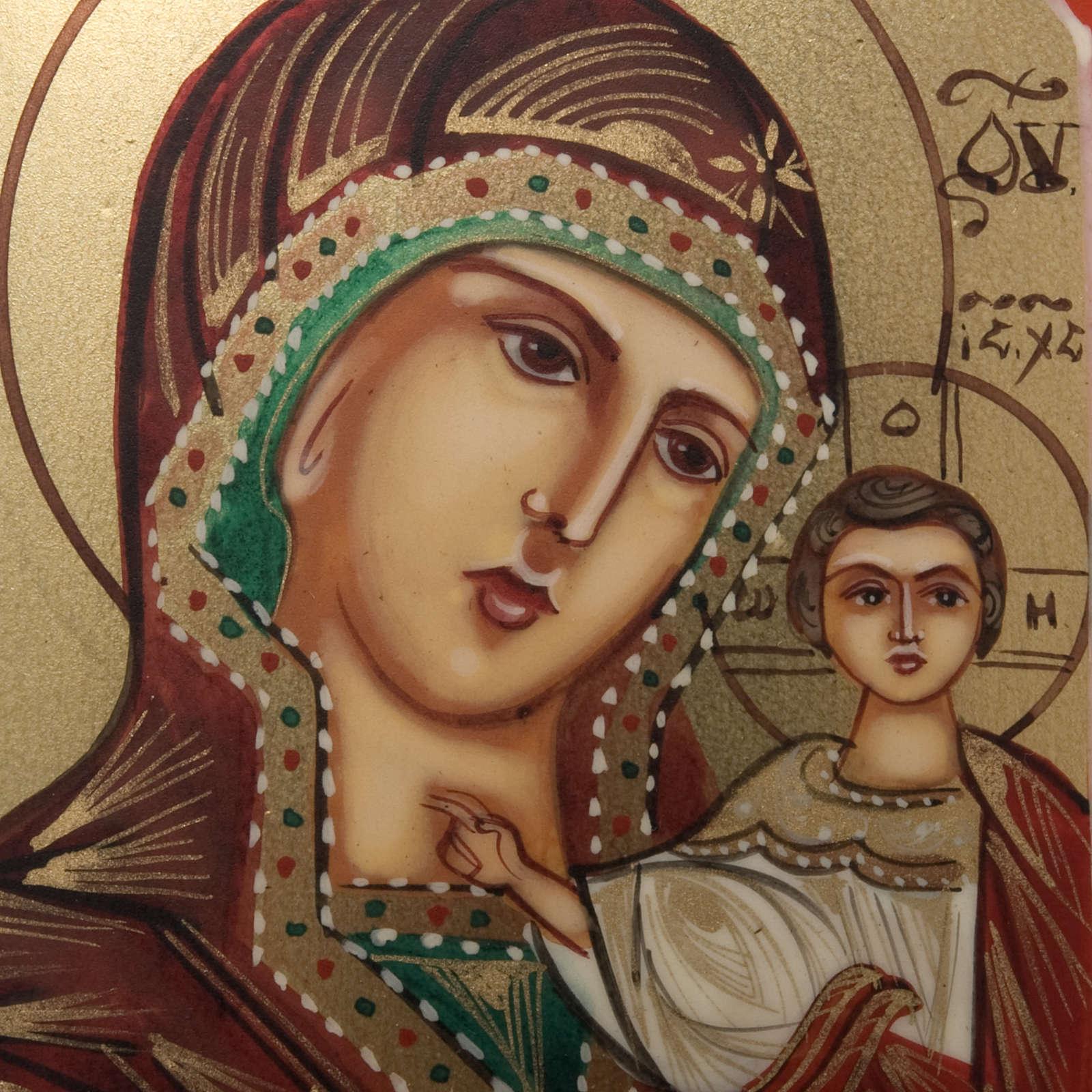 Icona miniatura Madonna Kazan 4